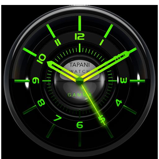 GAMMA Designer Clock Widget