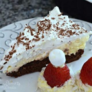 Decadent Brownie Eclair Pie