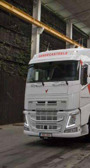 Schone technologie voor vrachtwagen en chauffeur