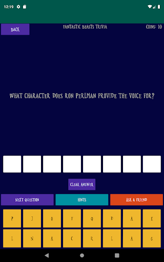 Quiz about the World of Harry Potter android2mod screenshots 18