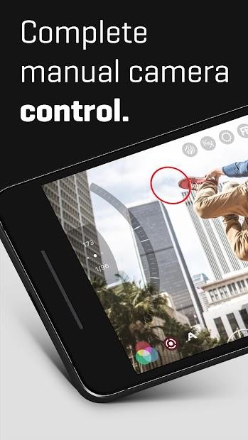FiLMiC Pro: Professional HD Manual Video Camera Android App Screenshot