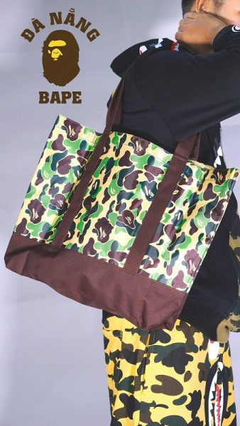 Tote Bag Bape Camo