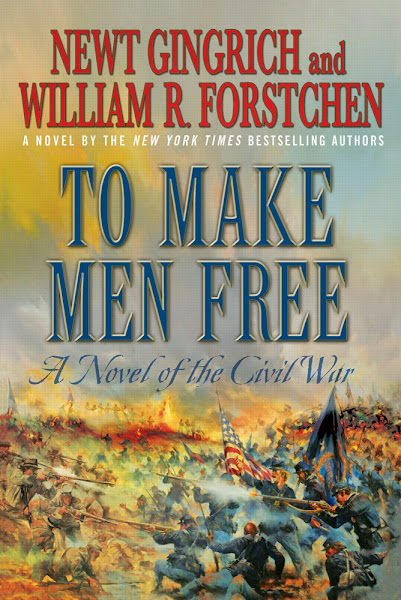 Photo: To Make Men Free by Newt Gingrich and WIlliam R. Forstchen - http://bit.ly/KDLJob