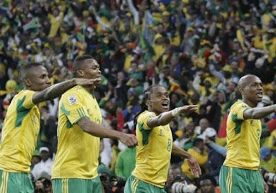Afrika Cup: late goal van Zuid-Afrika fataal voor gastland