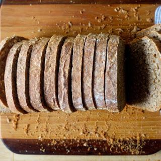 Oat and Wheat Sandwich Bread.