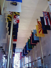 Photo: The Hall of States, so-called because... well, you can see why.