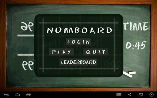 NumBoard - Number Game
