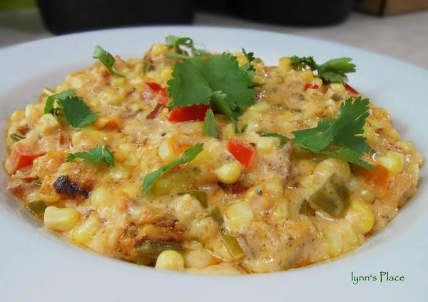 Texmex Cheesy Cream Corn Recipe