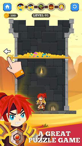 Hero Rescue - Unique Puzzle screenshots 1