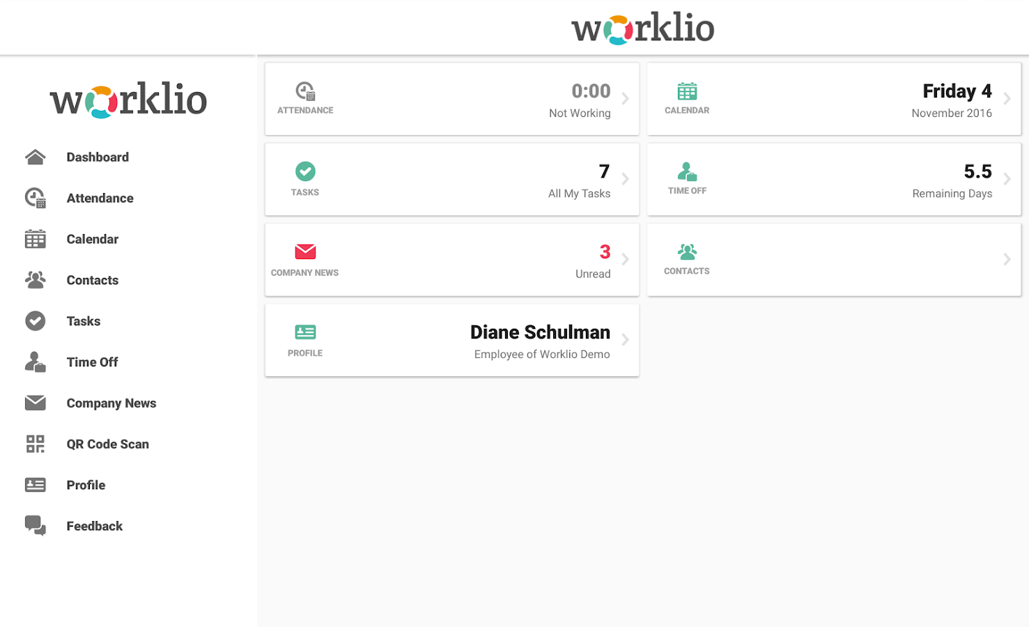 Worklio- screenshot