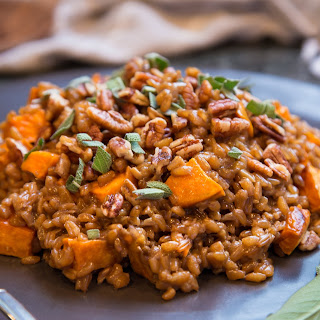 Farro & Sweet Potato Risotto