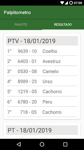 Resultado Jogo Do Bicho 1.5.34 screenshots 5