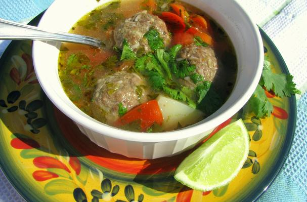 Albondigas (Meatball Soup) Recipe