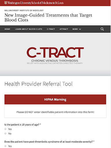 C-TRACT Referral App hack tool