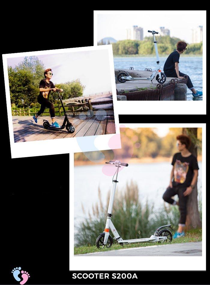 Xe trượt Scooter 2 bánh Broller S200A 1