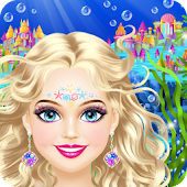 Magic Mermaid - Girls Makeup & Dress Up Salon Game