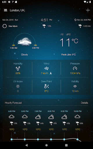 Weather Advanced for Android 1.0.4.6 Screenshots 13