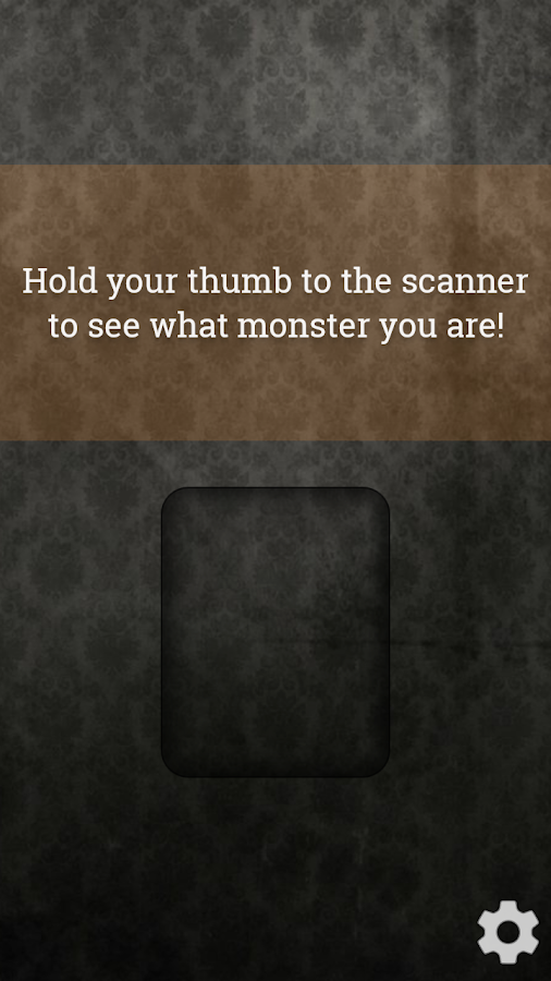 Monster Detector Prank- screenshot