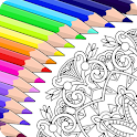 Colorfy: Free Coloring Games - Paint Color Book icon