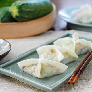 Hobak Mandu (Zucchini Dumplings)