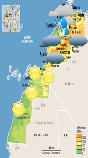 Download Météo Maroc Les Prévisions For PC Windows and Mac apk screenshot 2