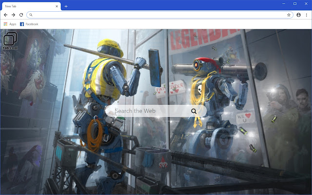 Cool Apex Legends Hd Wallpaper New Tab Theme