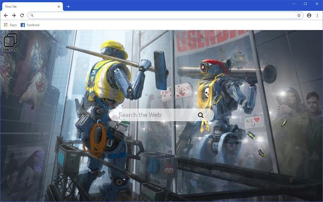Cool Apex Legends HD Wallpaper New Tab Theme
