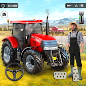 Farming Tractor Simulator: Offroad Tractor Driving