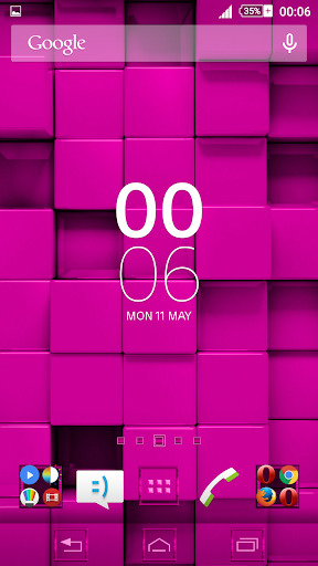 Tiles Pink Xperien Theme