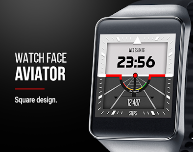 Aviator - Custom Watch Face Screenshot