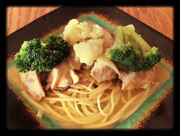 Chicken Thighs With Garlic Mustard Aioli Sauce Recipe