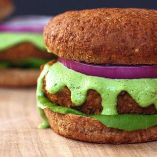 Bean Burger With Herb Aioli [Vegan]