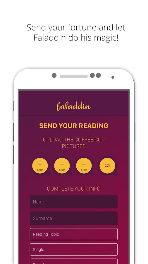 Screenshots of Faladdin - Magic Fortune for iPhone