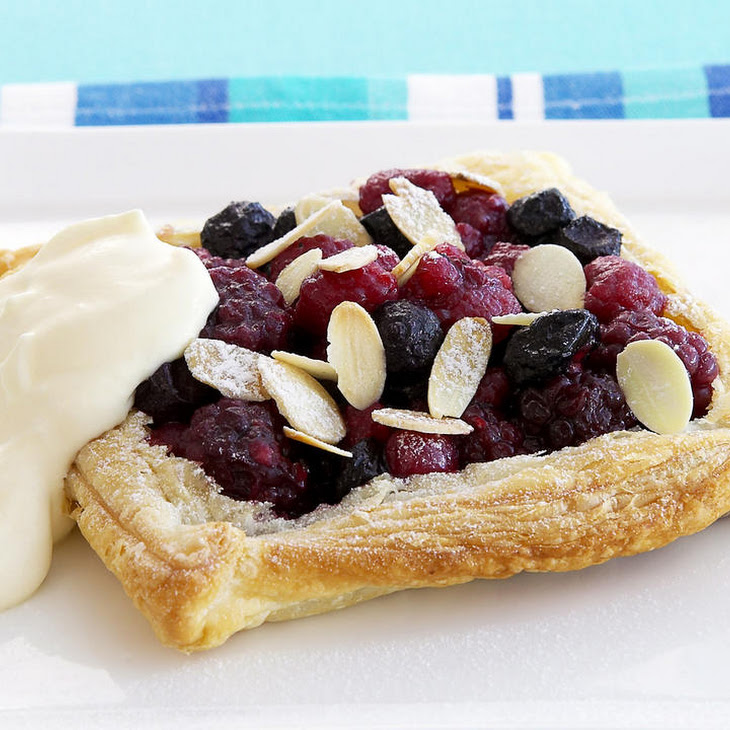 Mixed Berry Galettes