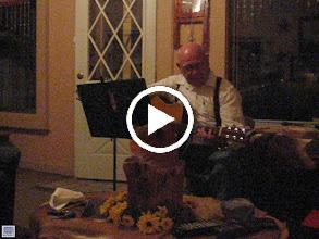 Video: Howard Steele (Pams Dad) singing. Precious video.
