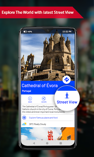 Offline maps with Street View : GPS Route Tracker 1.0.15 screenshots 4