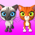Talking 3 Friends Cats & Bunny icon