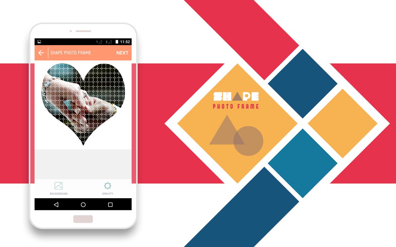 Shapes photo frames android apps on google play shapes photo frames screenshot jeuxipadfo Images