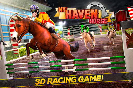 My Haven Horse Racing Games 3D