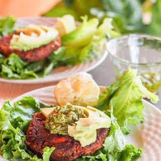 Vegan Chipotle Black Bean Veggie Burgers.