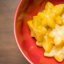 Starfruit by Antonio Winston - Food & Drink Fruits & Vegetables