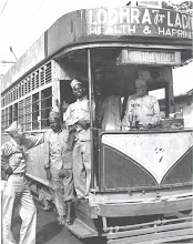 Photo: Tram in Madras