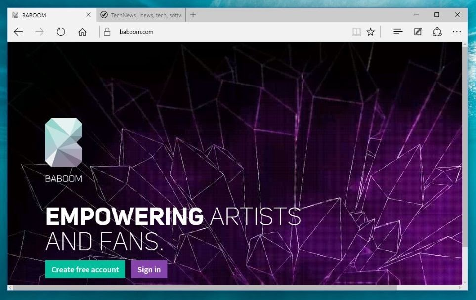 Noul serviciu de muzica de streaming Baboom a fost lansat