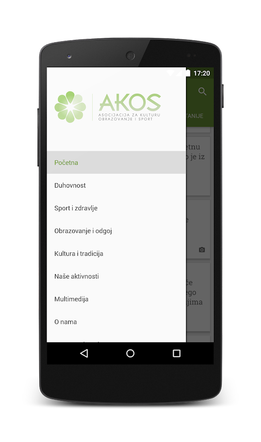 Akos.ba- screenshot