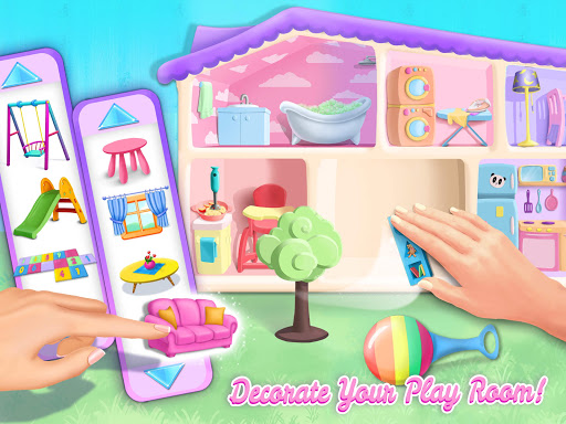 Sweet Baby Girl Doll House - Play, Care & Bed Time 1.0.76 screenshots 21