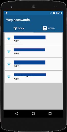 无线密码的WEP