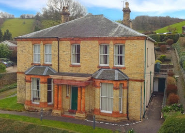 Striking Llanfair property