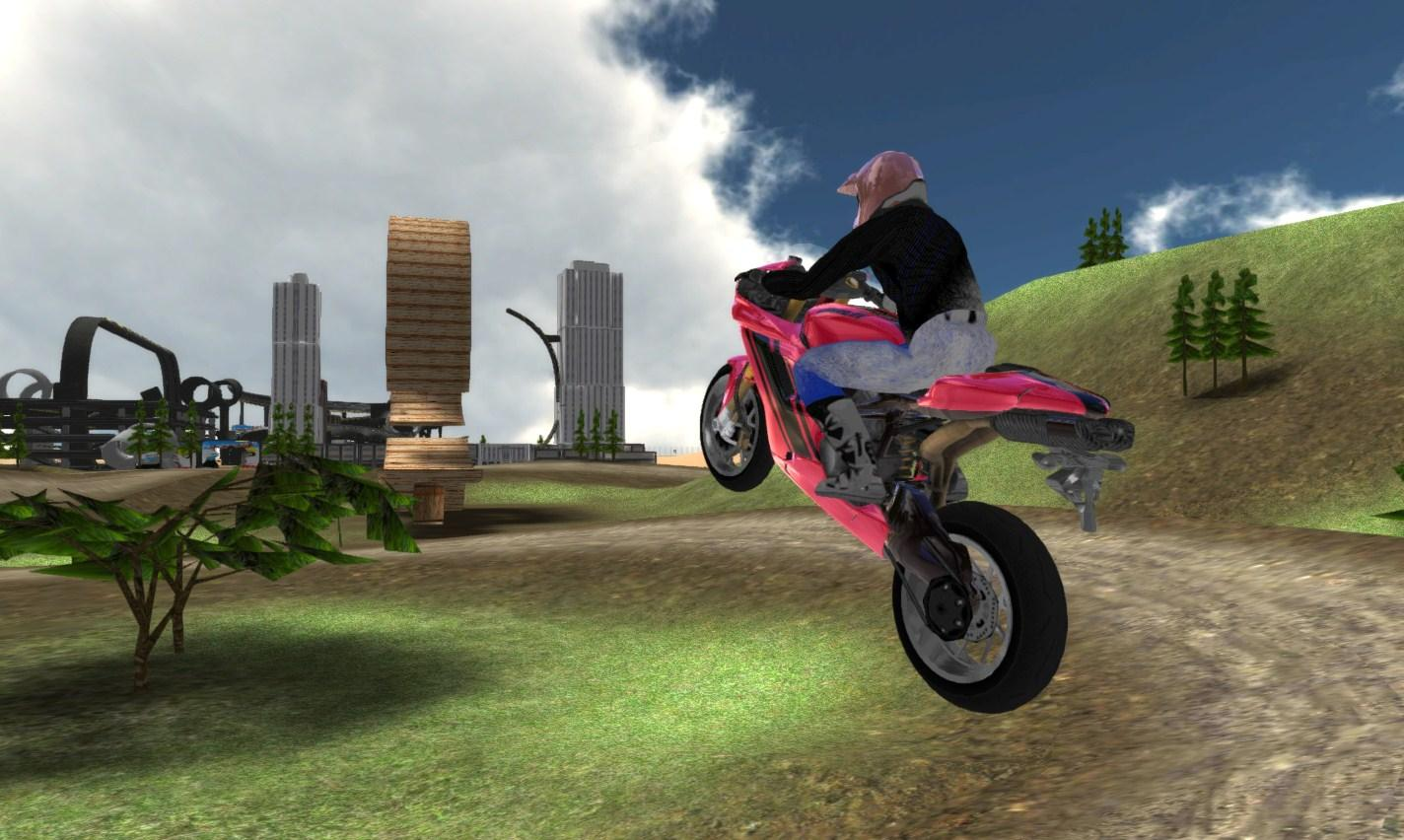Extreme Bike Race Driving- screenshot