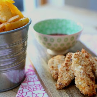 Homemade Chicken Fingers and Chips Recipe