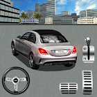 Drive Modern Car Street Parking Simulation icon